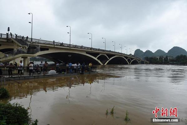 广西将遭遇持续性暴雨 局地累积雨量达500毫米