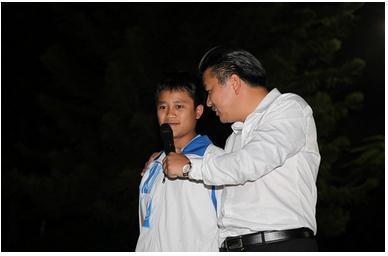 中国励志讲师杨飞虎高考演讲在内江十二中举行
