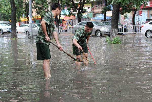 广东频现强降水 明后天全省迎暴雨局部大暴雨