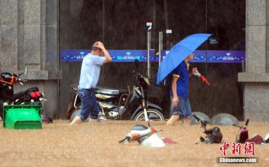 暴雨致江西25.59万人受灾 启动救灾四级响应