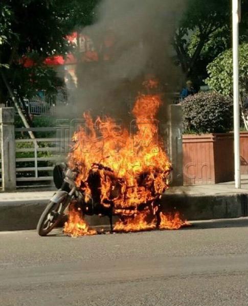 36.6℃!重慶萬州摩托車自燃 今午后起迎持續性