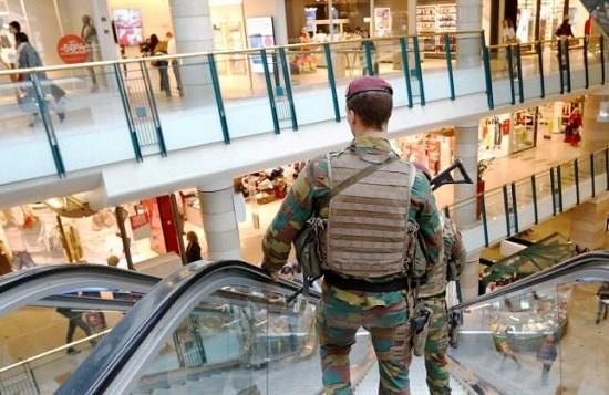 外媒:布鲁塞尔炸弹警报嫌疑人未携带爆炸物