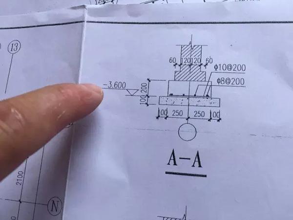 江苏溧阳一独栋图纸地基少挖2米多,交房6年仍装v图纸通维卡别墅图片