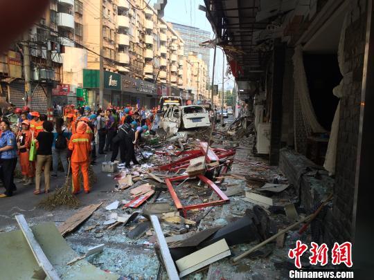 南京和会街店铺爆炸续:22名伤者已全部离院