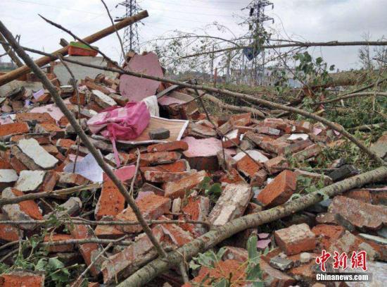 江苏紧急下达龙卷风冰雹自然灾害生活救助资金两千万元