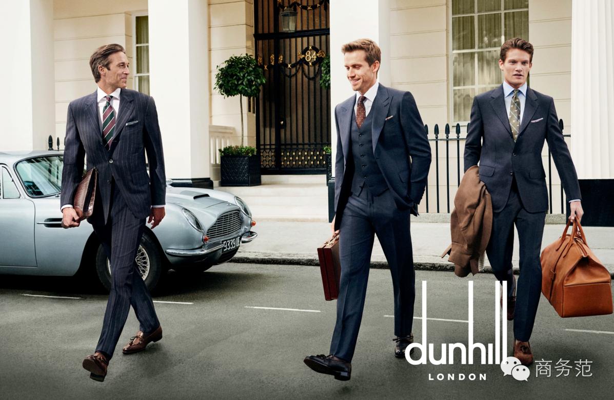 4,dunhill  隔着屏幕,范主都能闻着绅士的味道.