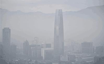 PM2.5侵袭智利首都圣地亚哥市 4成机动车限行