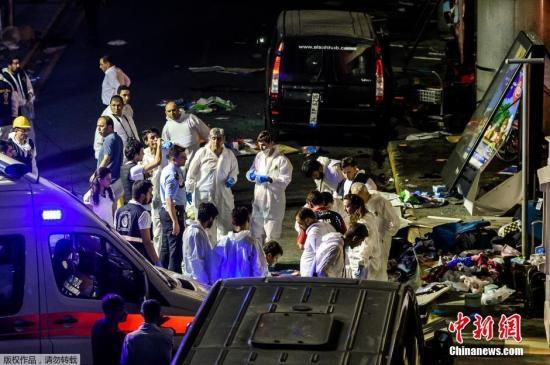 土耳其机场爆炸致三个从伊斯坦布尔飞往中国的航班取消