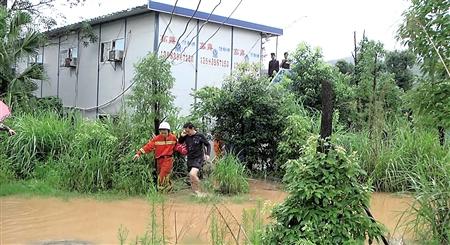 万分惊险 1998年来最大洪水 袭击綦江20个街镇