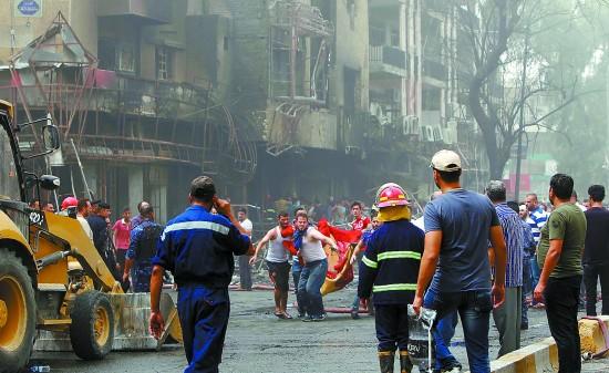 巴格达两起爆炸已致125人遇难