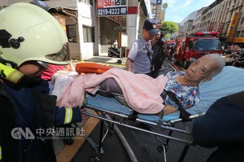 台新北市一老人中心发生火灾 3人死亡4人命危(图)
