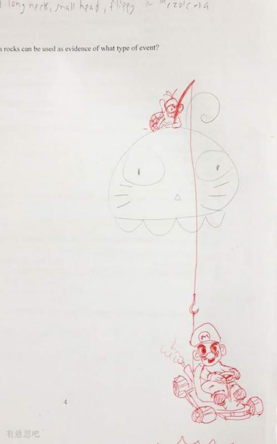 涂鸦涂鸦,似魔鬼的手法(好任性的老师┑( ̄▽  ̄)┍)