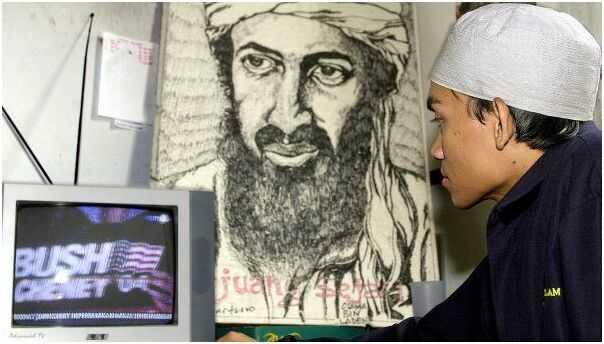 本拉登图片-本拉登之子承诺将会为其父亲向美国报仇