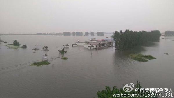 安徽将再现强降雨 巢湖维持高水位