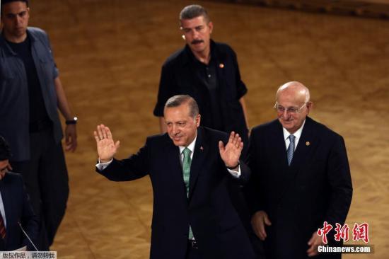 资料图:土耳其总统埃尔多安。