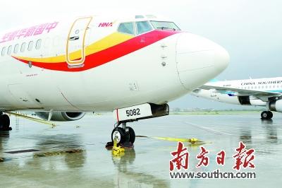 大飞机如何不被台风吹跑?