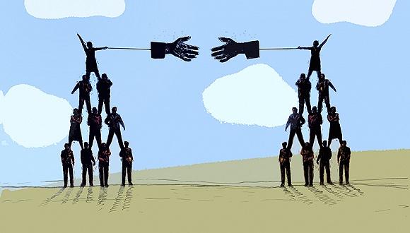 中石油和寶鋼集團互贈股份跨行業相互持股