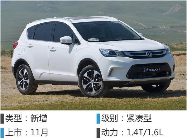 东风风神推5款全新SUV 含小型 7座车等 新浪汽车高清图片