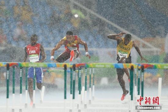 牙买加小将谈奥运110米栏揽金:博尔特感染了我