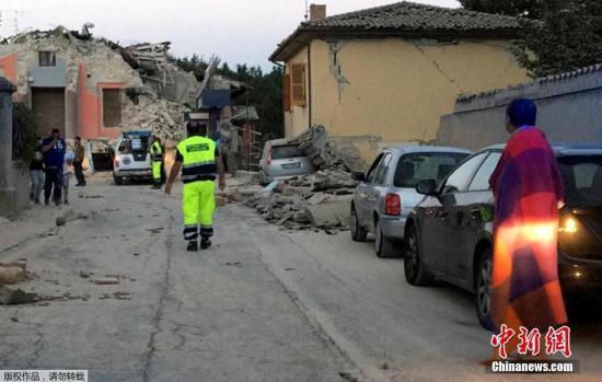 意大利6级以上地震已致250人遇难 余震达450次