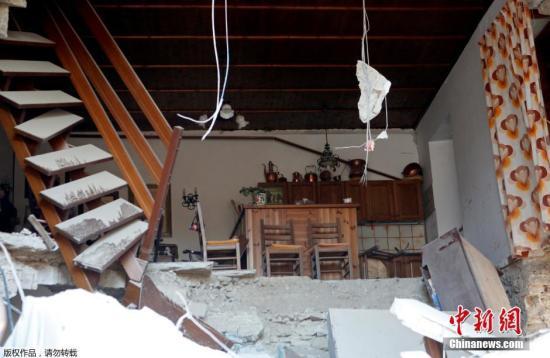 外媒:意大利6级以上破坏性地震造成249人遇难