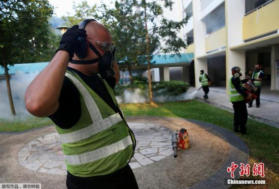 新加坡本土感染寨卡者增至82人 多国发旅游警示