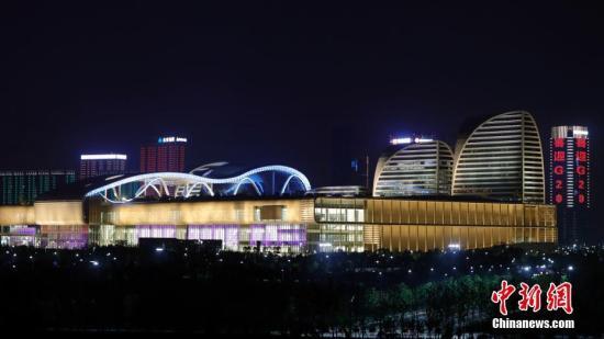 8月31日晚,杭州夜景美如画。二十国集团领导人杭州峰会即将在杭州举行。中新社记者 盛佳鹏 摄