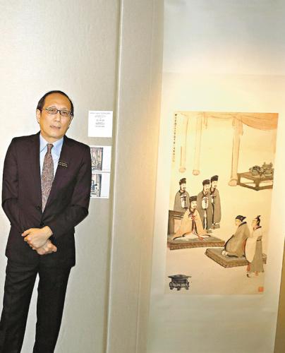 香港下月拍卖张大千等画作 估价约1.9亿港元
