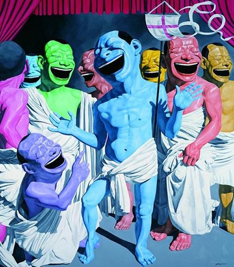 具象 抽象 绘画作品展 将在艺泰空间开幕