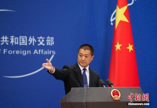 資料圖:中國外交部發言人陸慷。中新社發 劉關關 攝