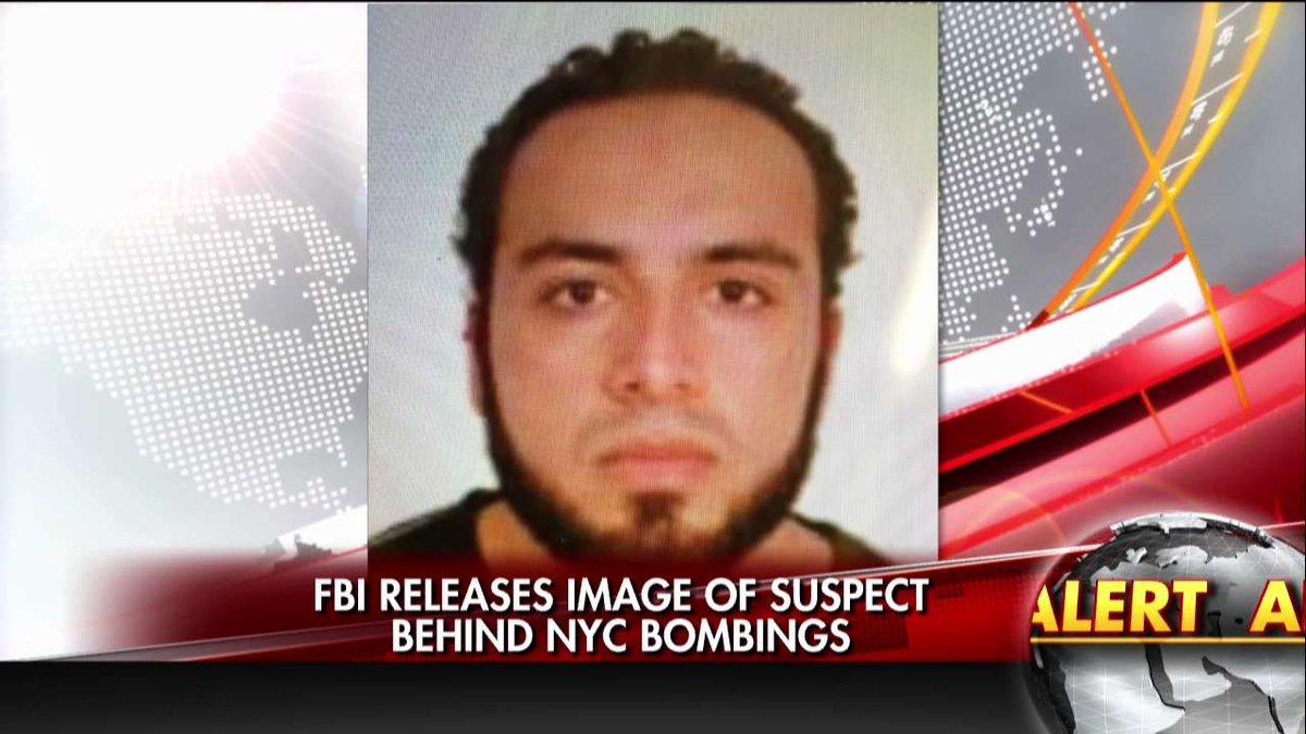 """FBI公布曼哈顿爆炸嫌犯身份 称其""""持武器且危险"""""""