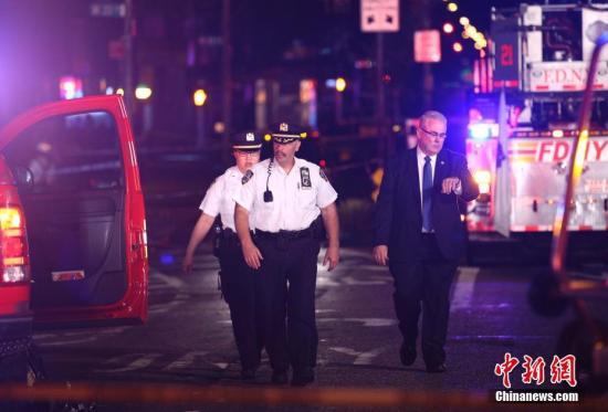 纽约市长:有充足理由相信爆炸案是恐怖主义