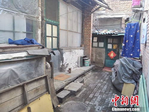 北京谭嗣同故居内,像这样的小房子几乎随处可见。上官云 摄