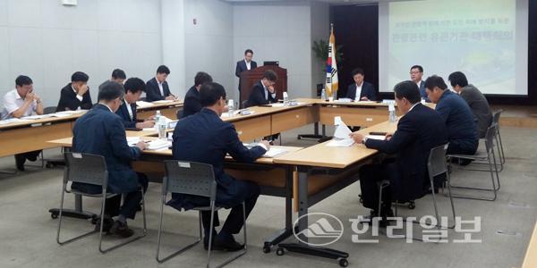 韩国济州岛旅游负责人就加强外国游客管理召开对策商讨会。(网页截图)