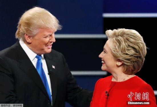 美国总统大选倒数5天:希拉里领先优势缩小