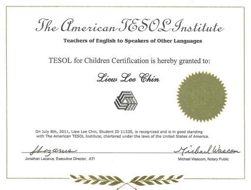 C成国内唯一一家美国TESOL中国区在线英语教