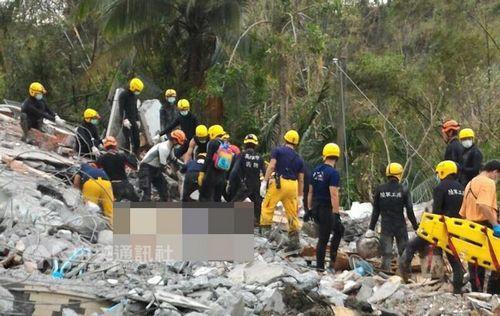 高雄民宅疑因台风遭土石流淹没 家中3人全数罹难