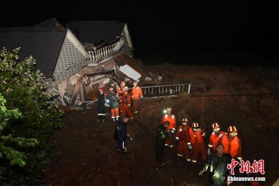 安监总局调运先进设备参加浙江丽水山体滑坡抢险救援