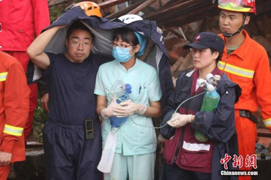 浙江遂昌苏村山体滑坡遇难人数上升至3人