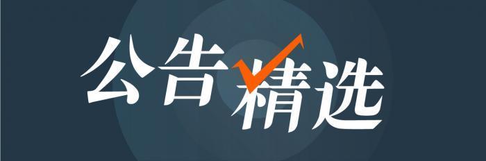 20日晚公告精编丨万达信息:中国人寿及其一致行动人增持公司股份至15%