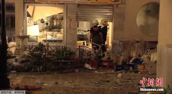 西班牙餐厅瓦斯爆炸致77人伤 其中5人伤势严重
