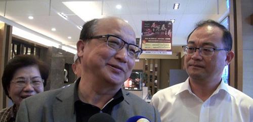 台中市前市长胡志强。台湾《联合报》记者杨濡嘉/摄影