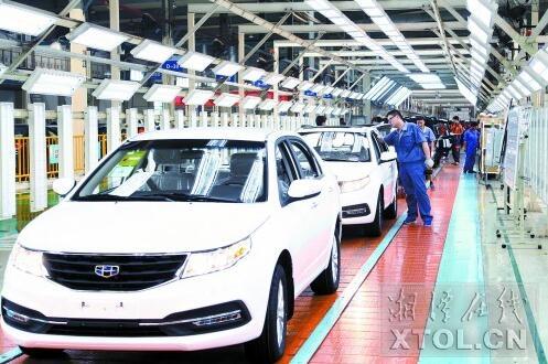 湘潭汽车及零部件产业朝千亿产值目标进发 将继续扩容