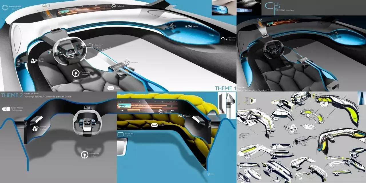 雪铁龙CXperience设计过程全解析