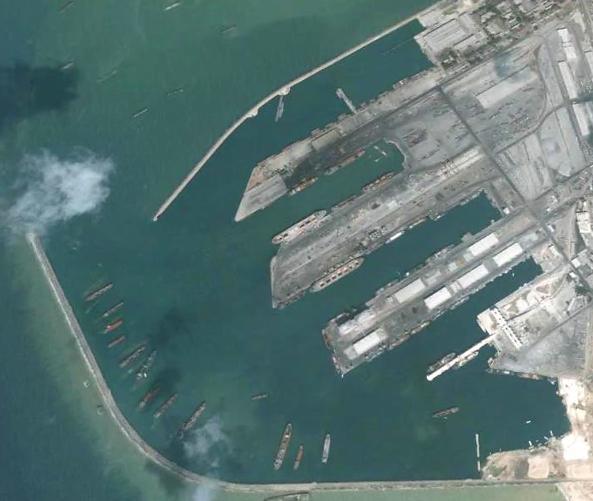 材料图:俄罗斯在塔尔图斯的海军基地(美国雅虎新闻网站)
