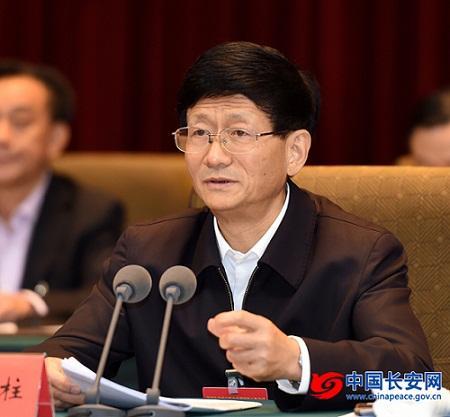 10月10日至11日,全国社会治安综合治理创新工作会议在江西南昌举行。中共中央政治局委员、中央政法委书记、中央综治委主任孟建柱出席会议并讲话。