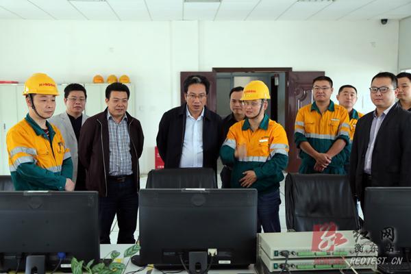 吴伟生调研衡东企业发展和县乡人大换届选举等工作
