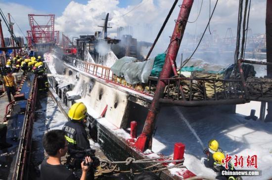 浙江台州外海油轮与渔船碰撞6人失联 海上搜救范围再扩大