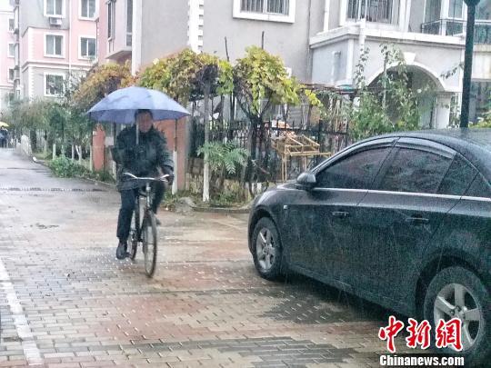 寒潮为辽宁带来今冬第一场降雪