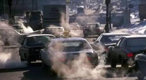 资料图:汽车尾气污染